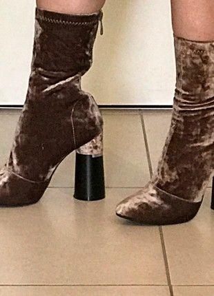 cfdf36bfa05 Socks Boots jamais portés taille 37 doré