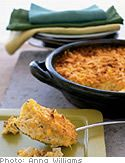 Creamy Corn Pudding with Cheddar Cheese and Chives - Oprah.com