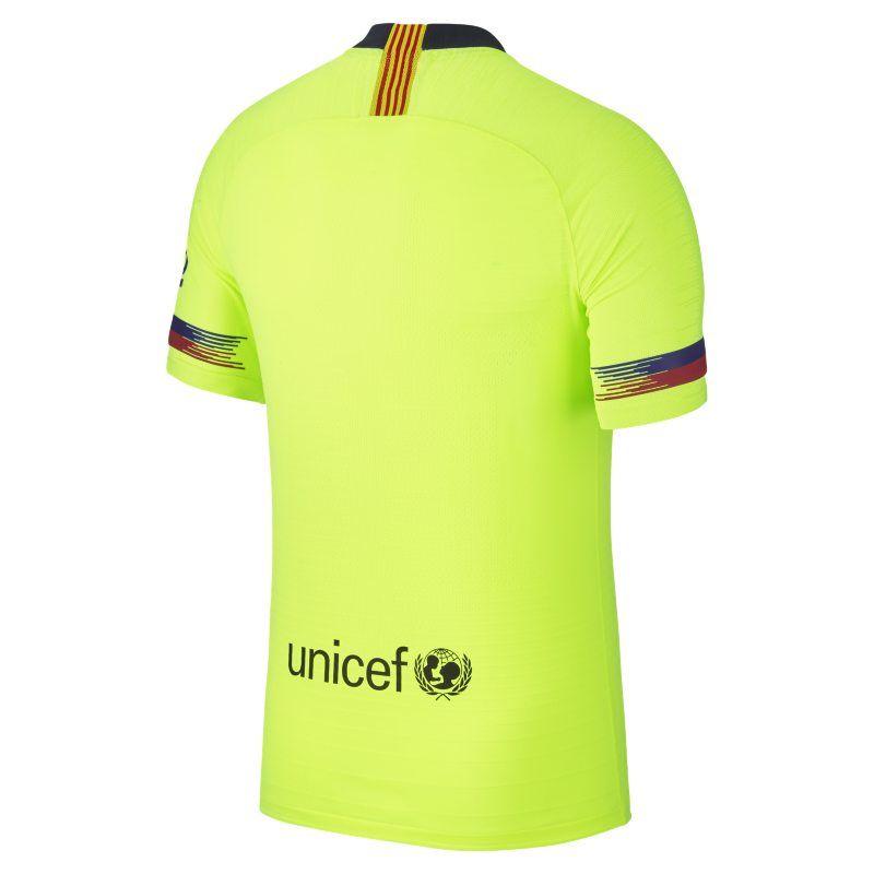 ced560e8f 2018 19 FC Barcelona Vapor Match Away Men s Football Shirt - Yellow