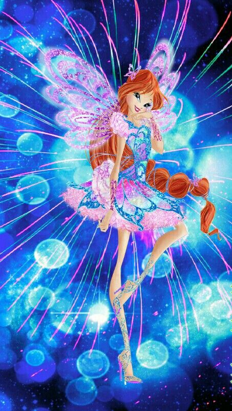 Bloom butterflix winx club dessin - Bloom dessin anime ...