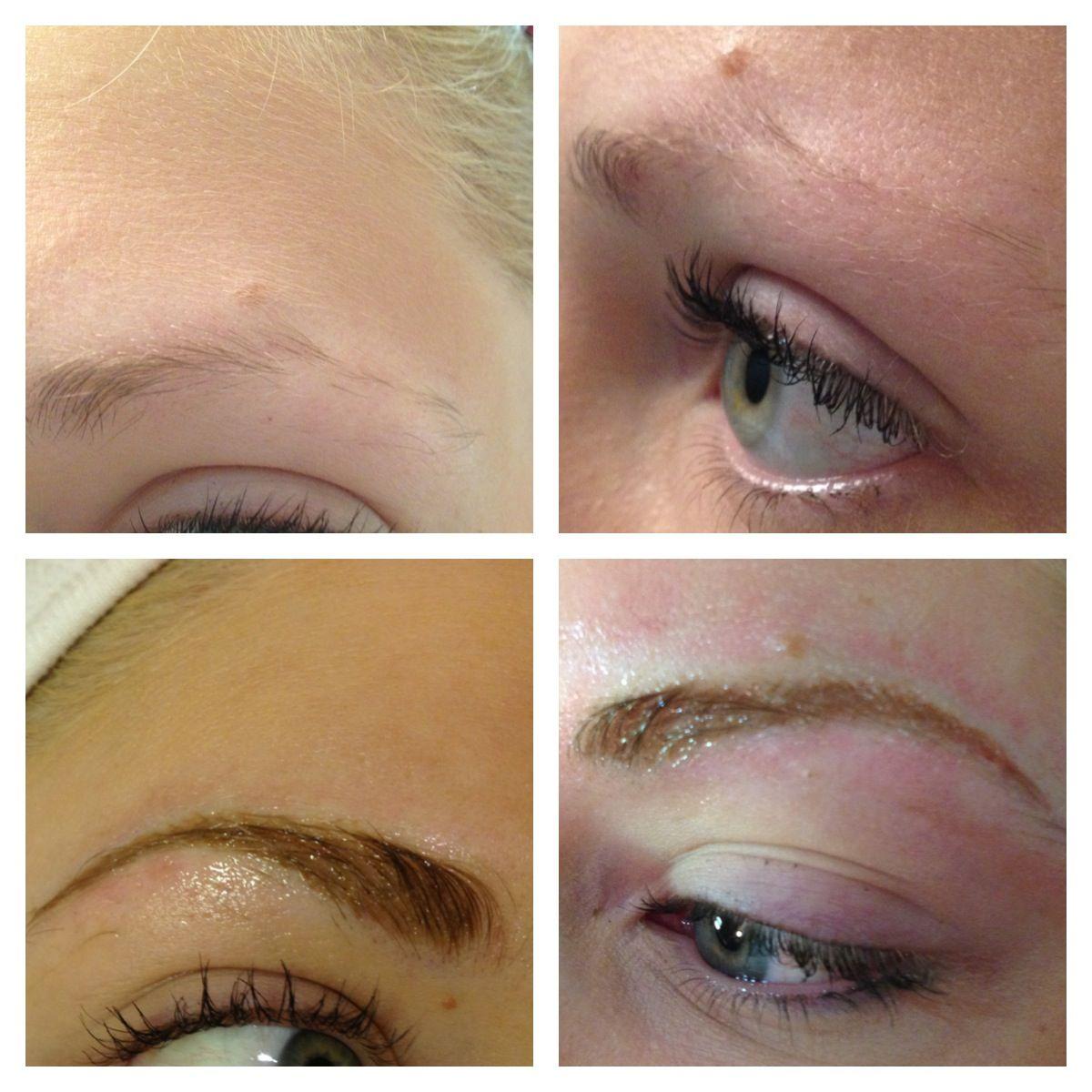 Eyebrow Tattooing by Jaime Brow makeup, Eyebrows