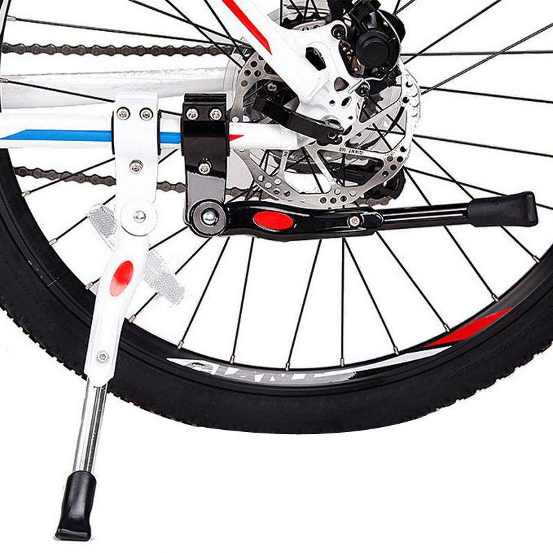Bike Kick Stand Cycle Adjustable Heavy Duty Side Rear Kickstand Bicycle Mountain