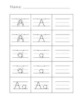 letter formation practice worksheets letter formation handwriting pinterest letter. Black Bedroom Furniture Sets. Home Design Ideas
