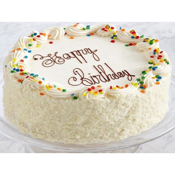 Vanilla Cake You Cannot Buy Happiness Buy You Can Buy Cake And