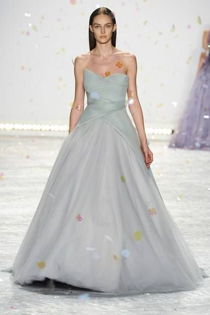 Monique Lhuillier - Beautiful #NYFW