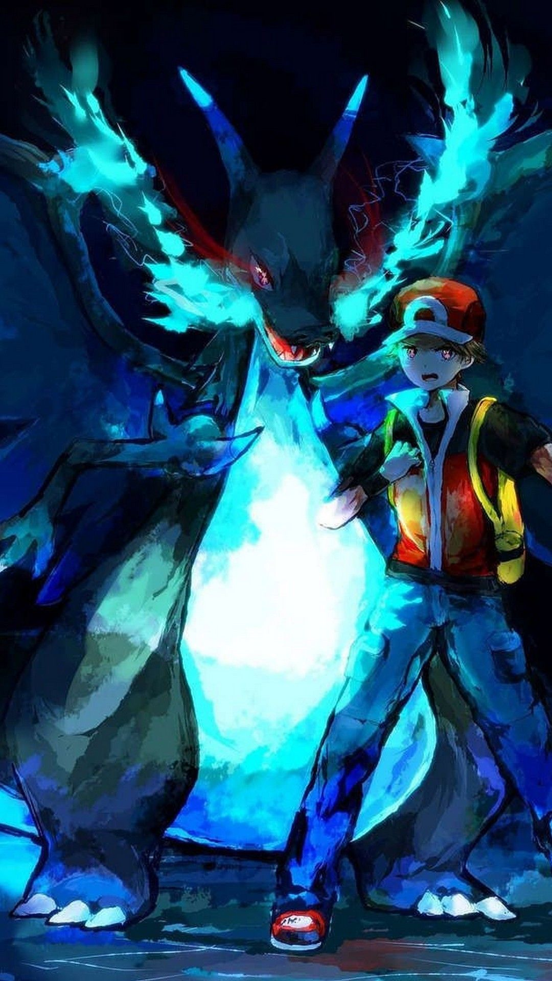 Pokemon Hd Wallpapers For Android Best Android Wallpapers Pokemon Trainer Red Pokemon Pokemon Charizard