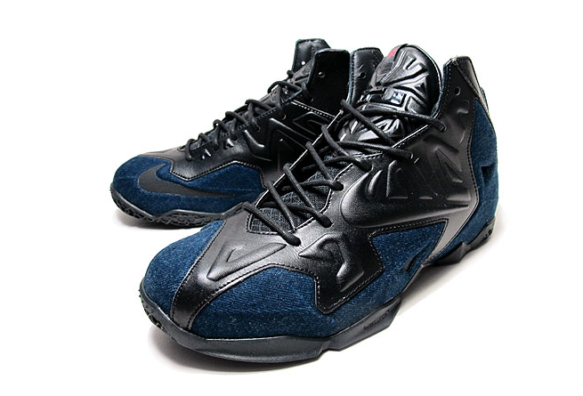 2e9c9cef026fd Nike LeBron 11 EXT Denim New Detailed Pictures