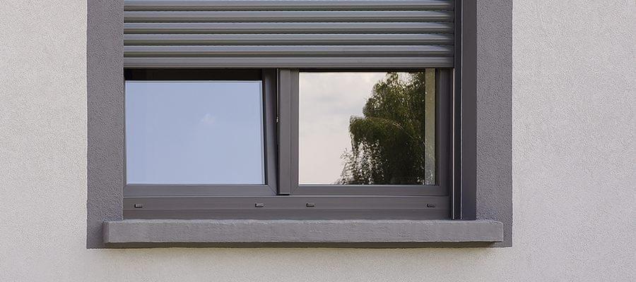 Aussenfensterbank Aus Stein Grau Gestrichen Fensterbank Aussen Fensterbrett Aussen Fenster Architektur