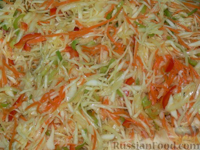 """Рецепт Салат из капусты """"Витаминный"""", cостав: капуста ..."""