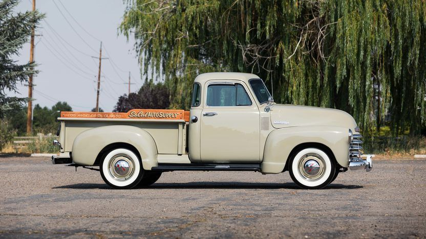 1953 Chevrolet 3100 5 Window Pickup 2 Jeep Pickup Truck Old Chevy Pickups Trucks
