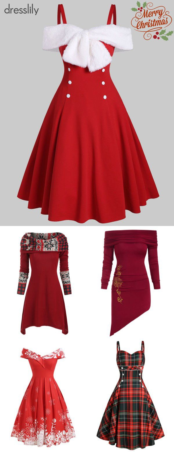 Christmas Outfits | Christmas Dresses for Women
