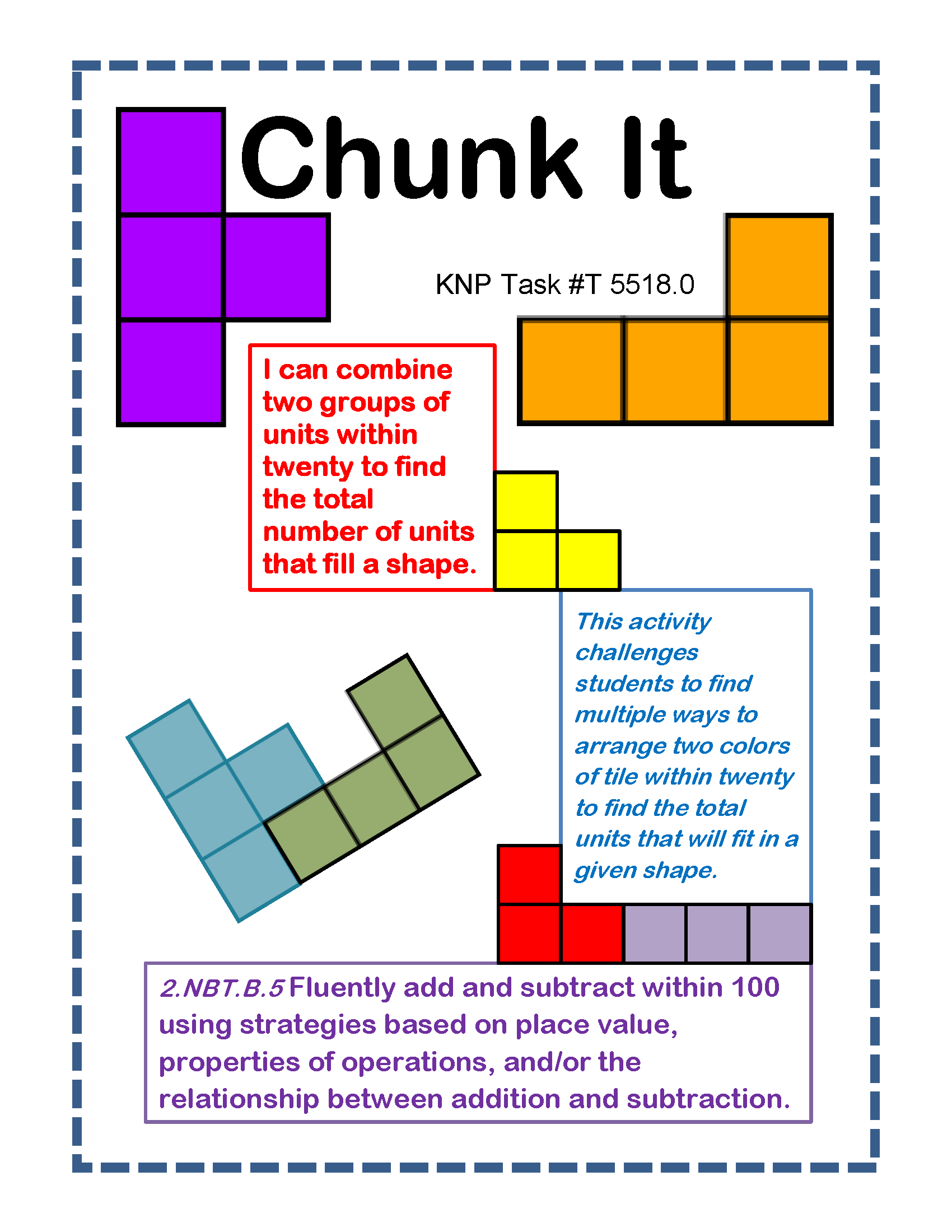 Chunk It I Can Combine Two Groups Of Units Within