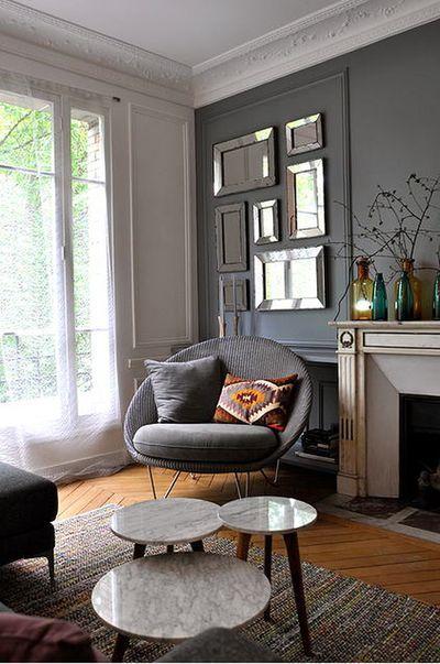 miniature Rénovation et décoration d\'un appartement de 90 m2 à Paris ...