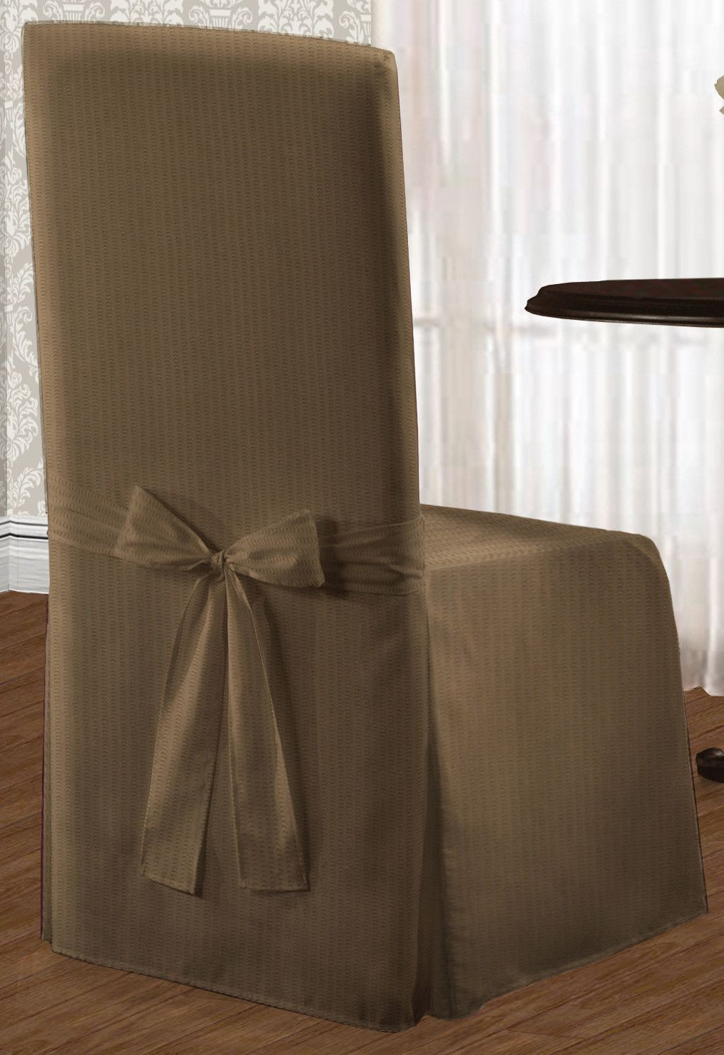 Metro Parson Chair Slipcover   Products   Pinterest