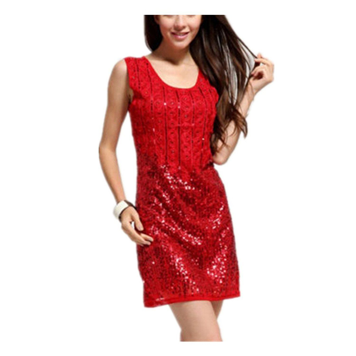 Warmfire womenus party formal dresses handed sequins ball gown