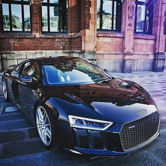 Black Beauty Audi R8 V10 Plus Follow At Luxurylifestylemagazine
