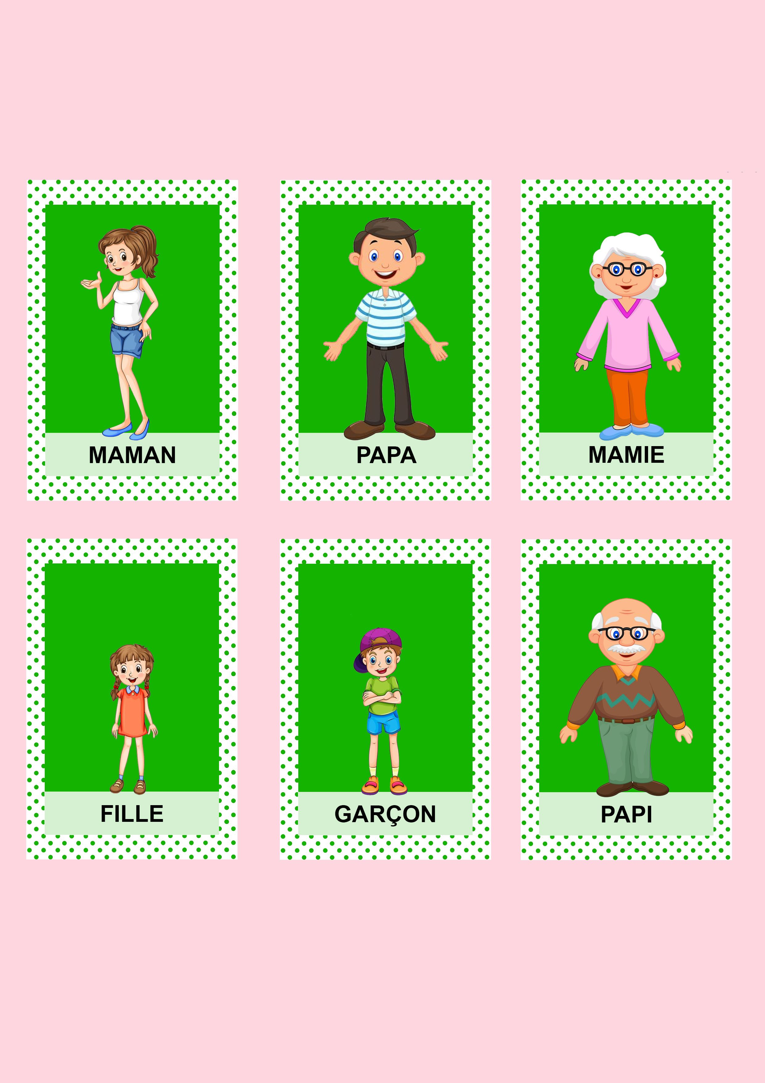 Jeu De 7 Familles Les Activites De Maman Jeux De Societe Enfant Jeux Des 7 Familles Jeux A Imprimer