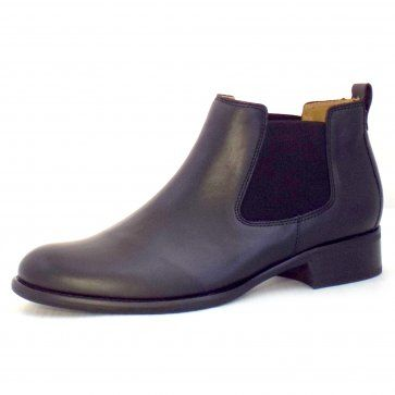 NEW* Gabor Zodiac Ladies Ankle Boots in Black Leather