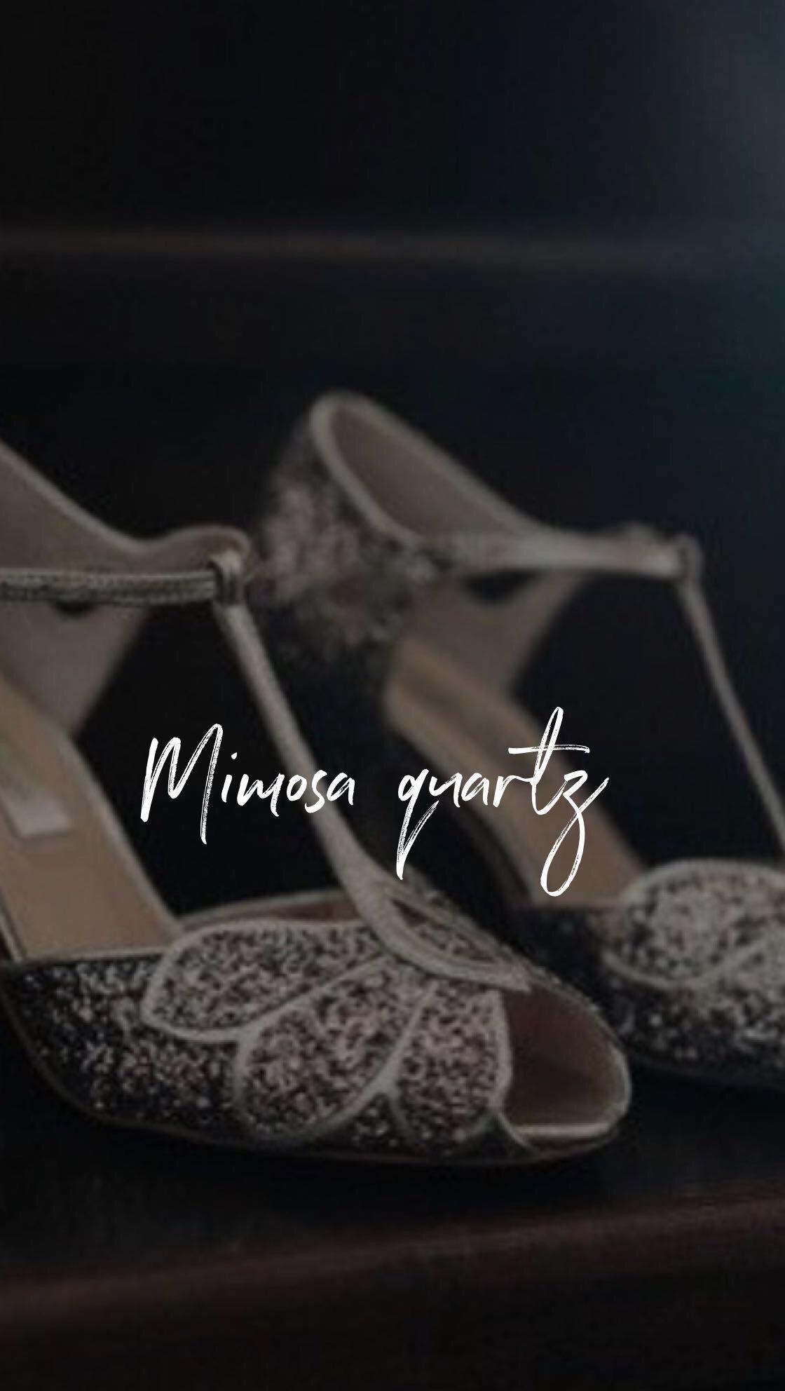 4bd8cc1b0c0 Mimosa quartz - les chaussures de mariage parfaites   ultra confortable