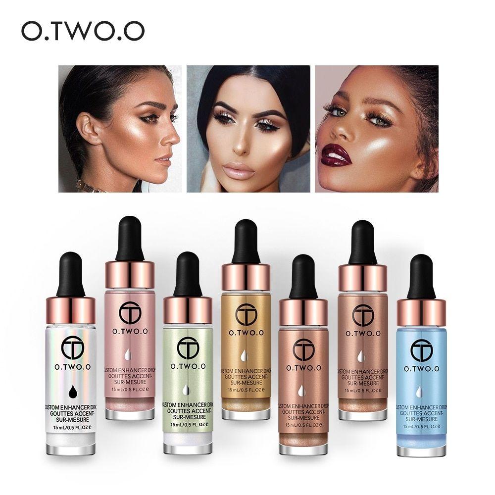 O.TWO.O Liquid Highlighter Make Up Primer Shimmer Face