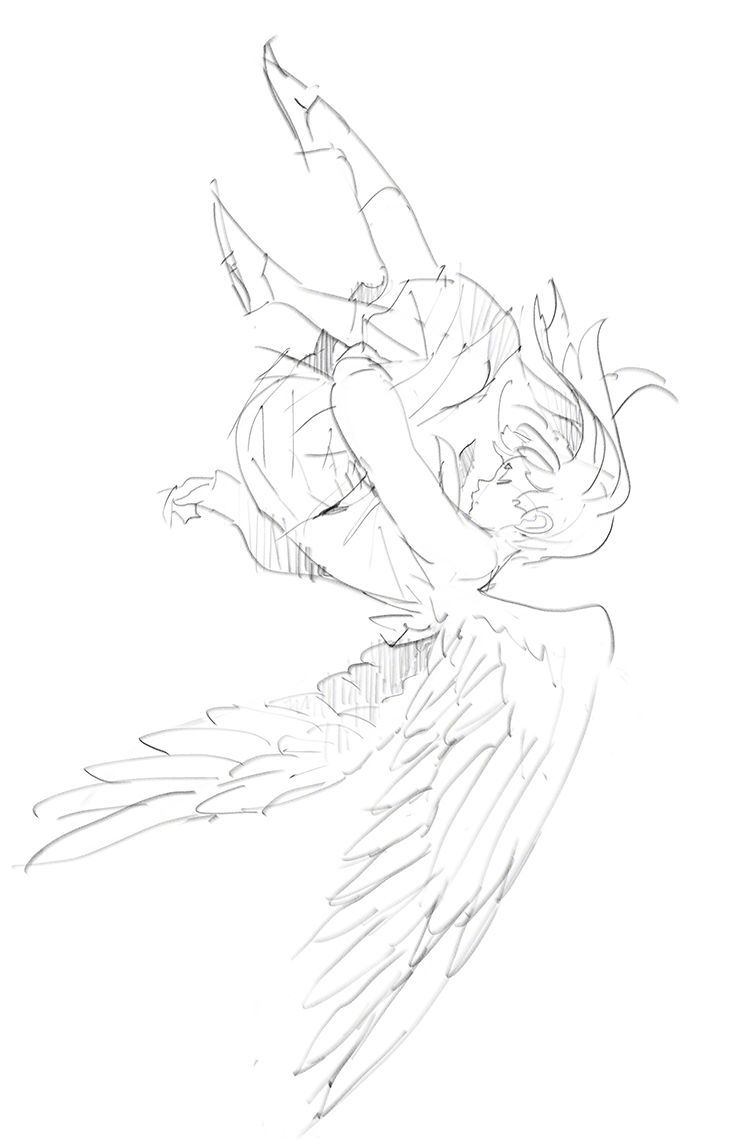 A Woman Flying I Love Draws Of People Flying I Think It S Amazing Uma Mulher Voando Doru Desenhos De Pessoas Vo In 2020 Art Poses Art Reference Poses Art Reference