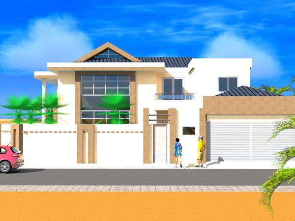 Projet De Construction D Une Villa A Lome Togo Plans De Maison
