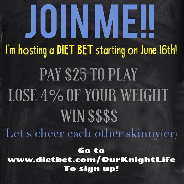 Win money lose weight