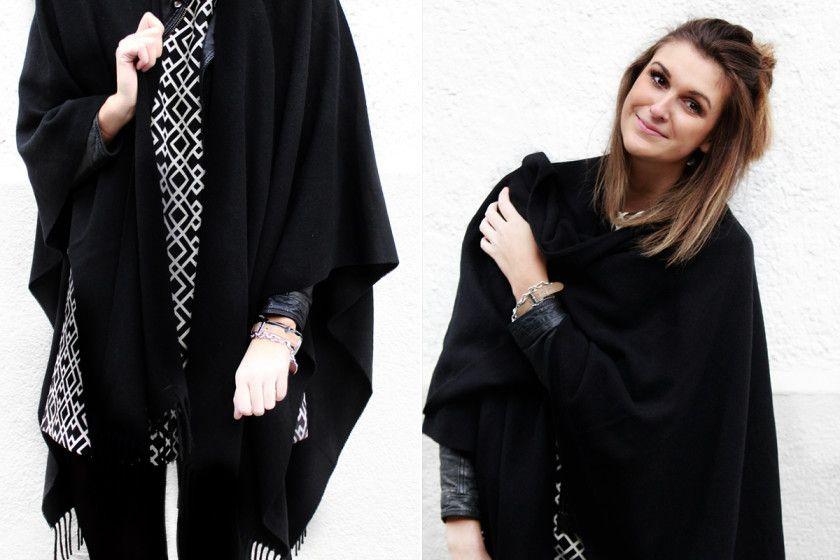 the perfect black cape
