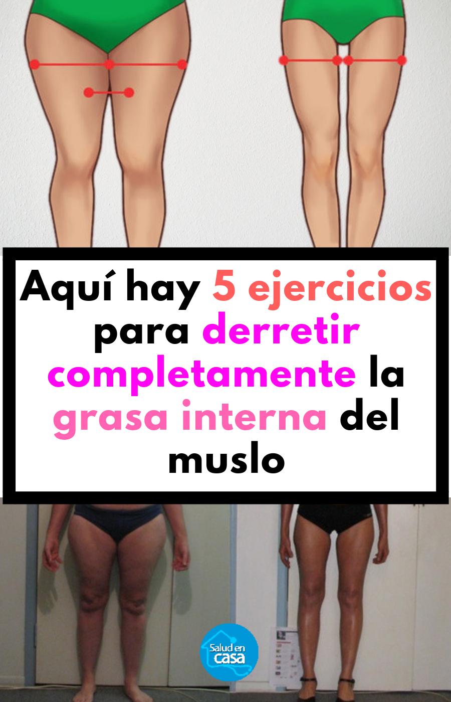ejercicios aeróbicos para perder grasa del muslo