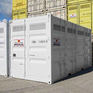 Storage cube rental