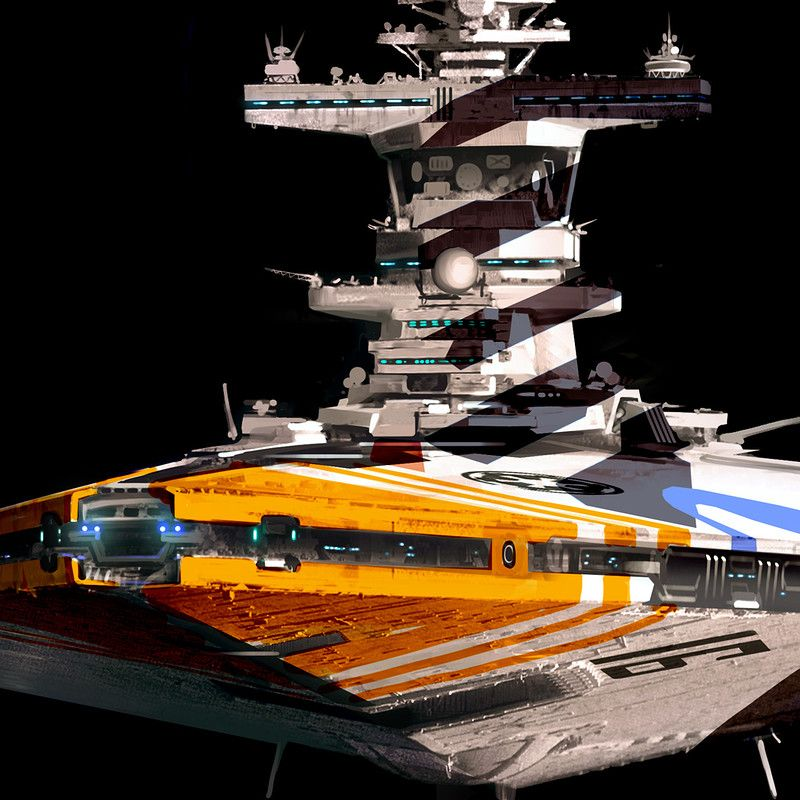 Alternate Universe Star Destroyer Redesign Consider It An Idea For