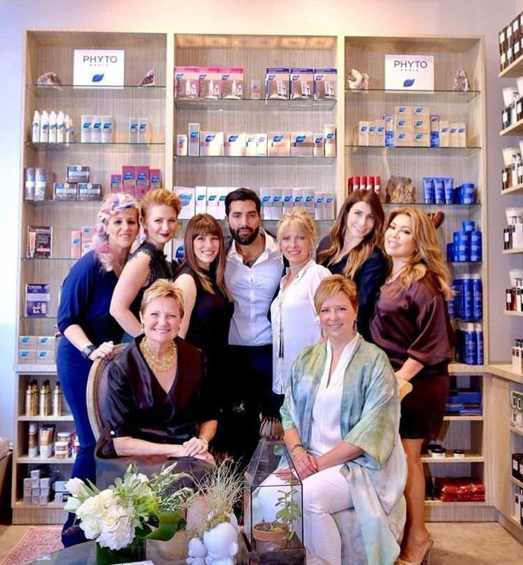 Members Of The Janet St Paul Team At The Salon Phyto Salon Hair