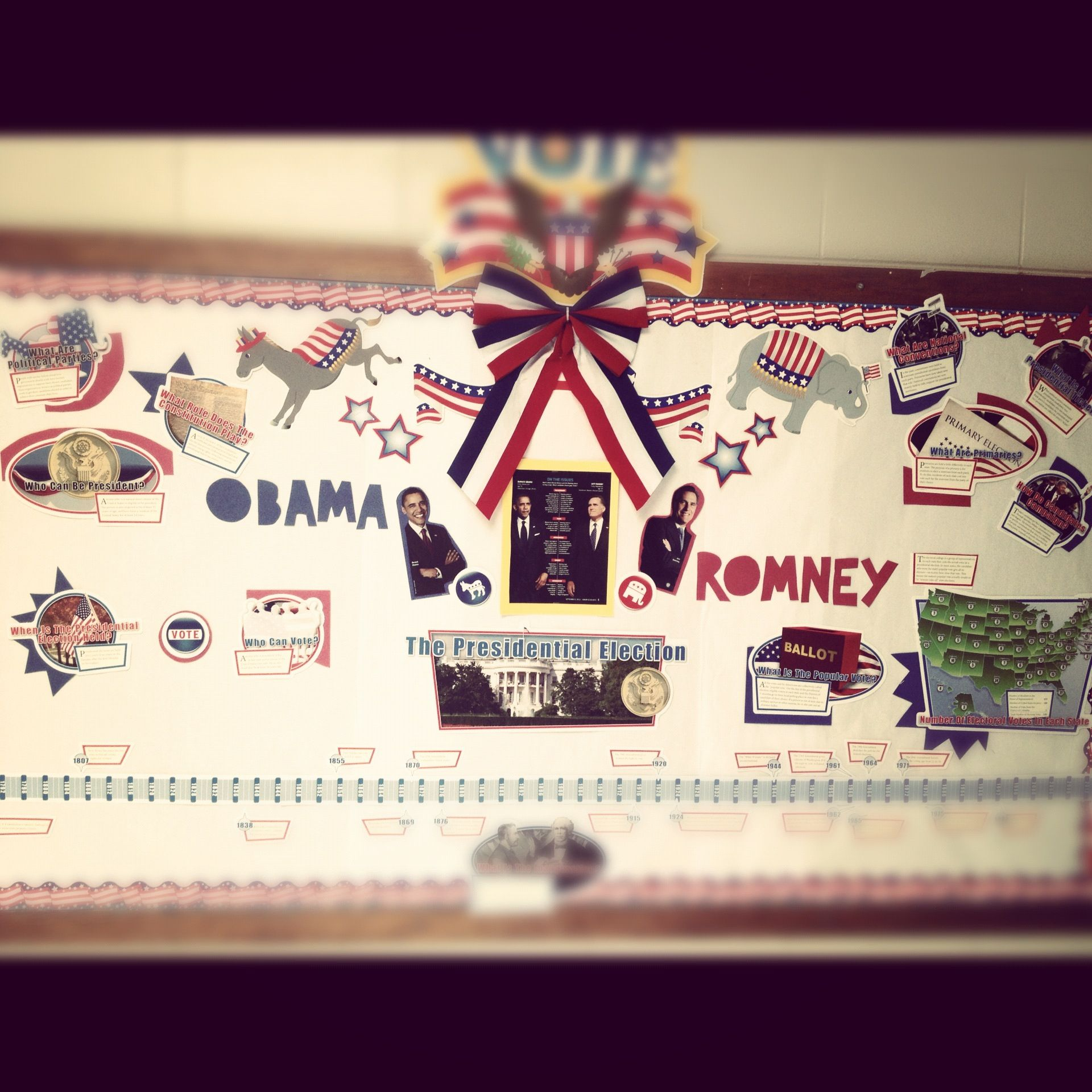DIY Election/Politics Bulletinboard. With the coming of ...