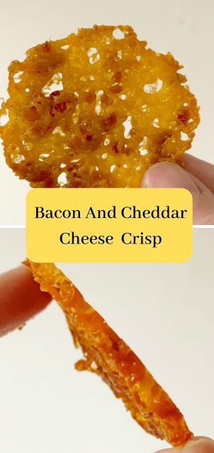 Bacon And Cheddar Cheese Crisps