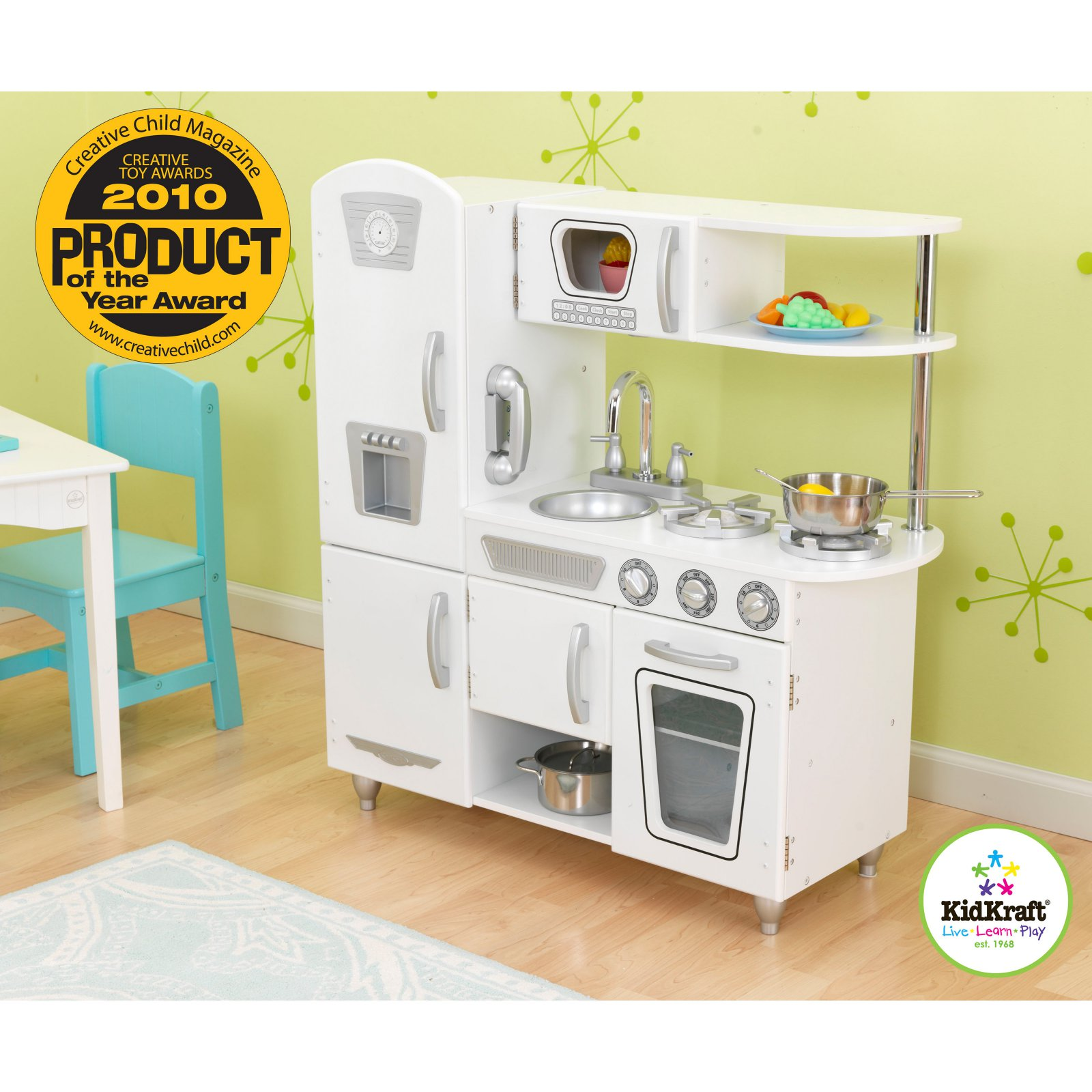 Kidkraft Küche Retro Kidkraft White Vintage Kitchen In 2019 Products Kidkraft