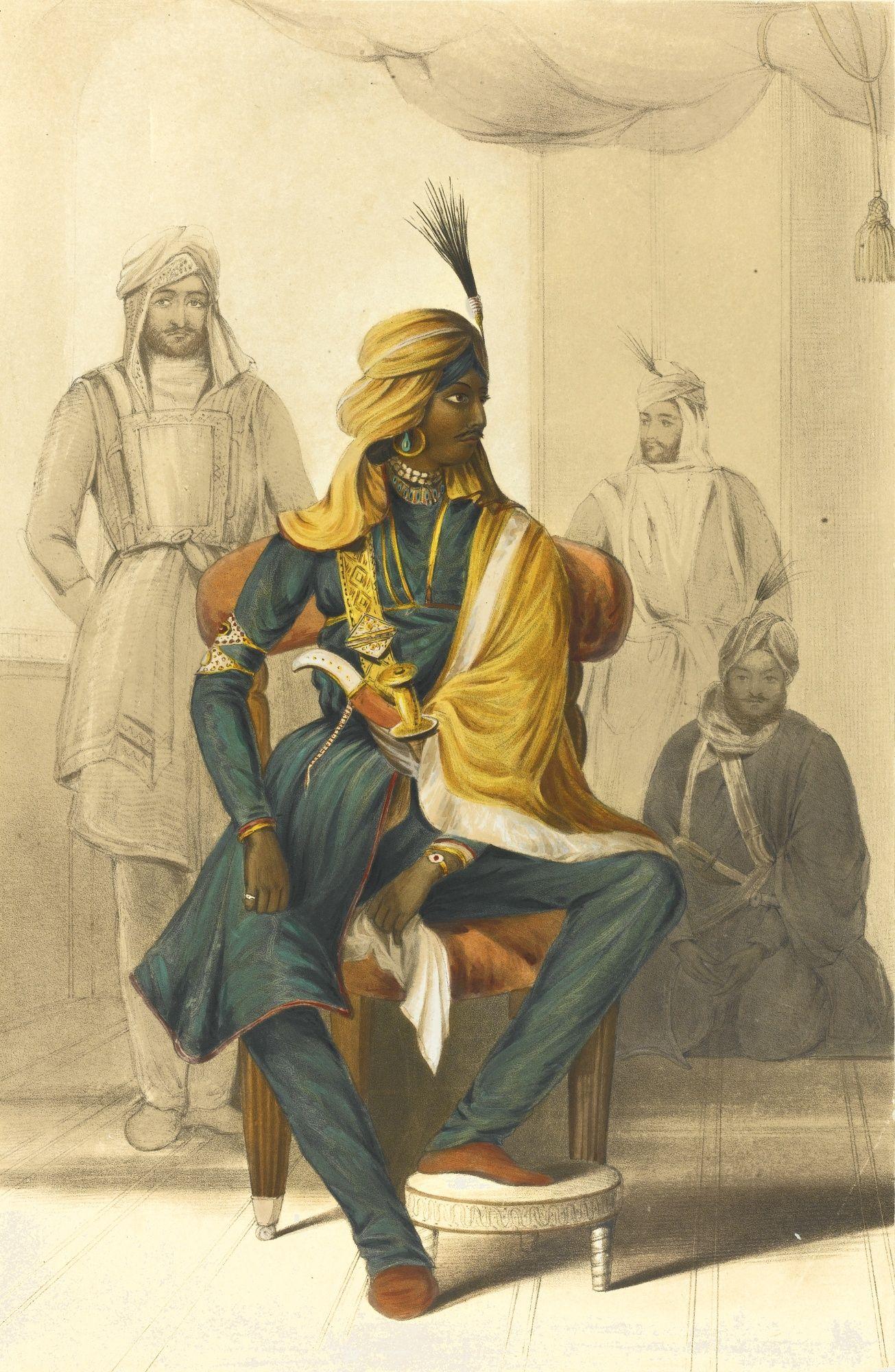 Image result for sikh empire emily eden