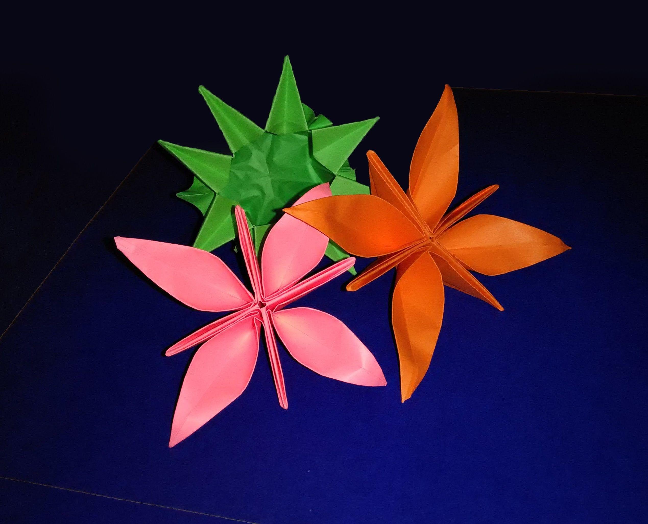 origami summer flower special easy paper flower