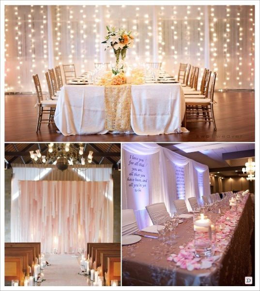 idee deco murs salle mariage