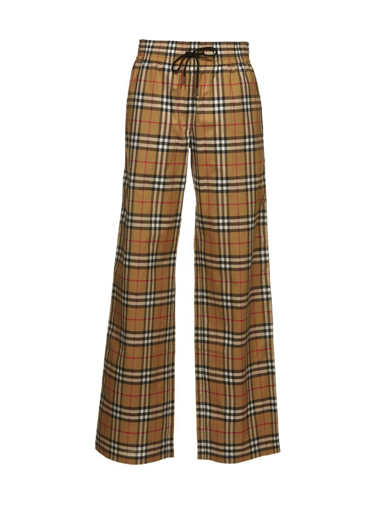 10199d4c4 Best price on the market at italist.com Burberry Check PANTS & SHORTS.