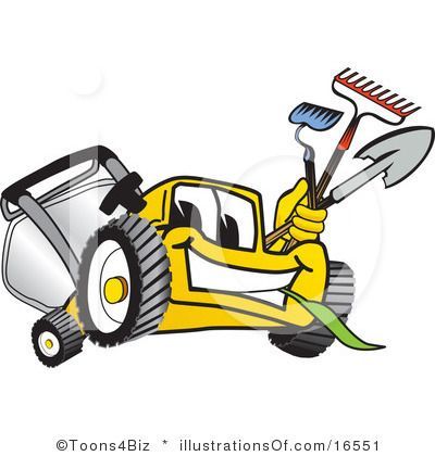 Free Lawn Mower Clipart Black And White Clipart Panda Free Clipart