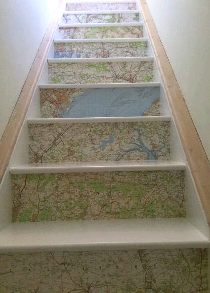 Are You Gonna Go My Way? Creative Uses for Old Maps