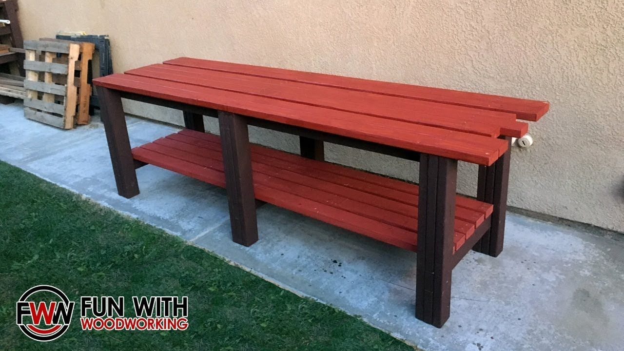 Superb How To Build A Simple And Strong 2X4 Workbench Youtube Andrewgaddart Wooden Chair Designs For Living Room Andrewgaddartcom
