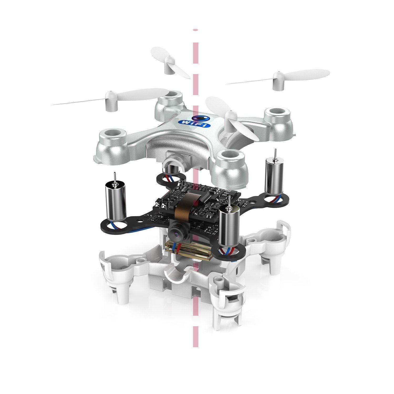 Amazon.com: Drone Dron Quadrocopter RC Quadcopter Nano WIFI Drone with Camera 720P FPV 6AXIS GYRO Mini Drone: Toys & Games