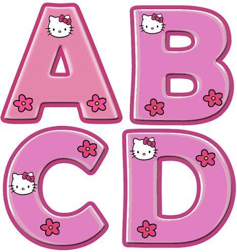 letras para imprimir infantiles  Imprimibles  Pinterest  Hello