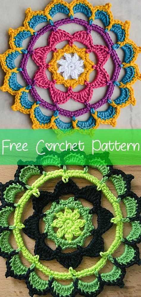 Just Another Mandala [CROCHET FREE PATTERNS] #freecrochetpatterns #crochet #freecrochet #amigurumi #easycrochet #diycrochet #patternsfree #crochet2 #croche #feshioncrochet #crochetpatternsfree #free #crochey #crochetdiy #diy #allaboutcrochet #allcrochet #tutorial #tutorialcrochet #videocrochet #crochetmandalapattern