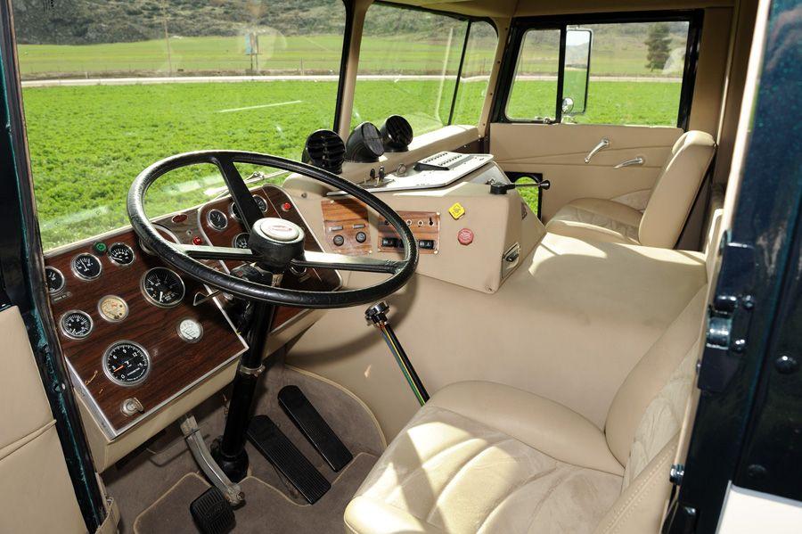 Custom 1979 Peterbilt COE classic styled interior