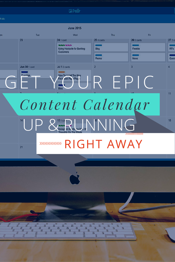The Ultimate Content Calendar Template  Content Marketing