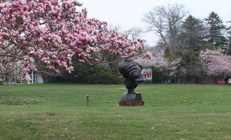 Spring Sculpture Stroll #Kids #Events