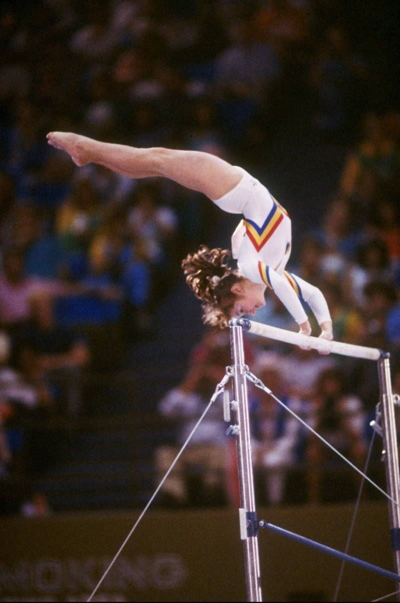 The 1984 Olympics In Los Angeles Romanian Gymnastics Artistic Gymnastics 1984 Olympics