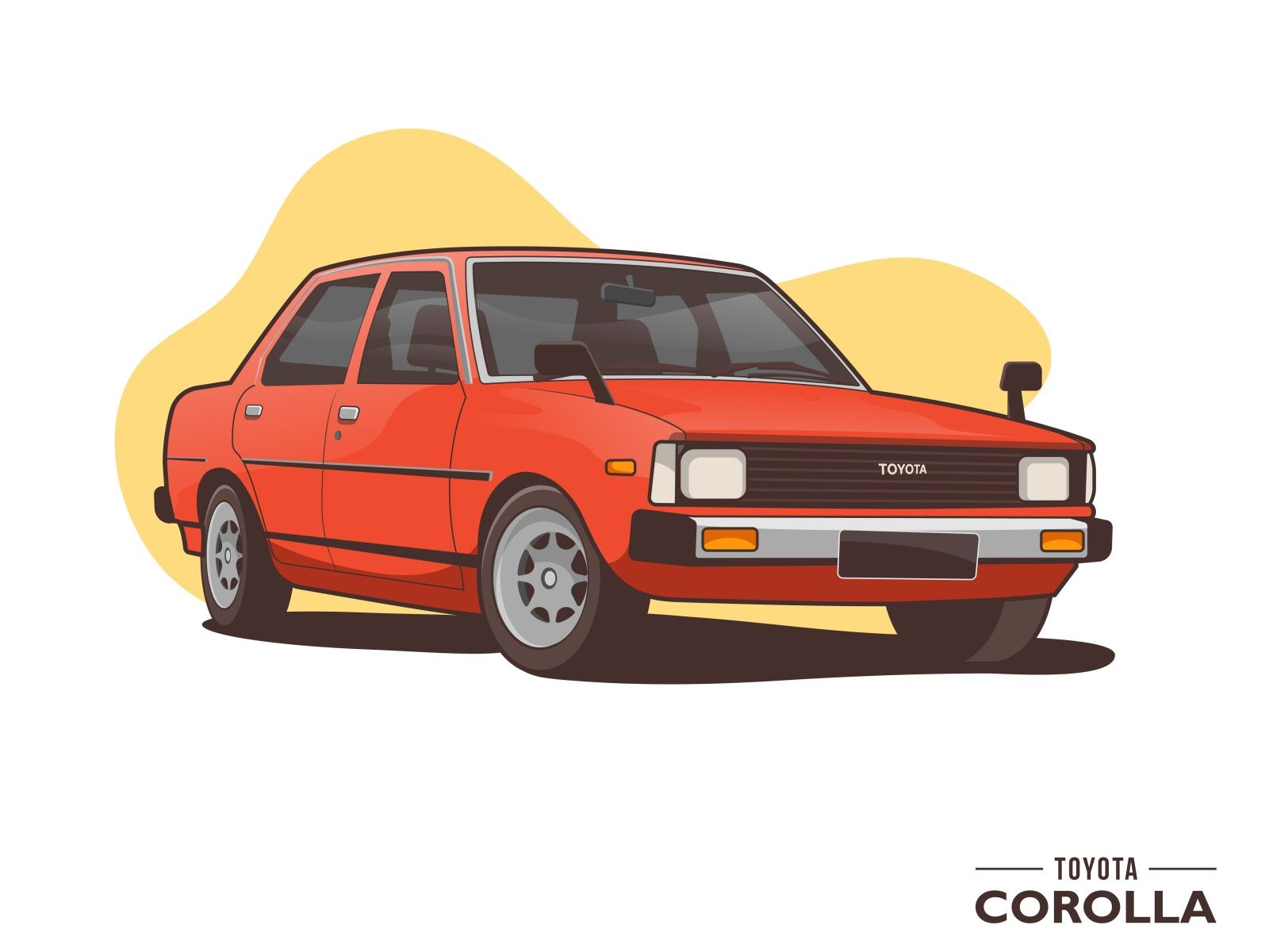 Toyota Corolla Old Car Classic Toyota Corolla Classic Cars Toyota